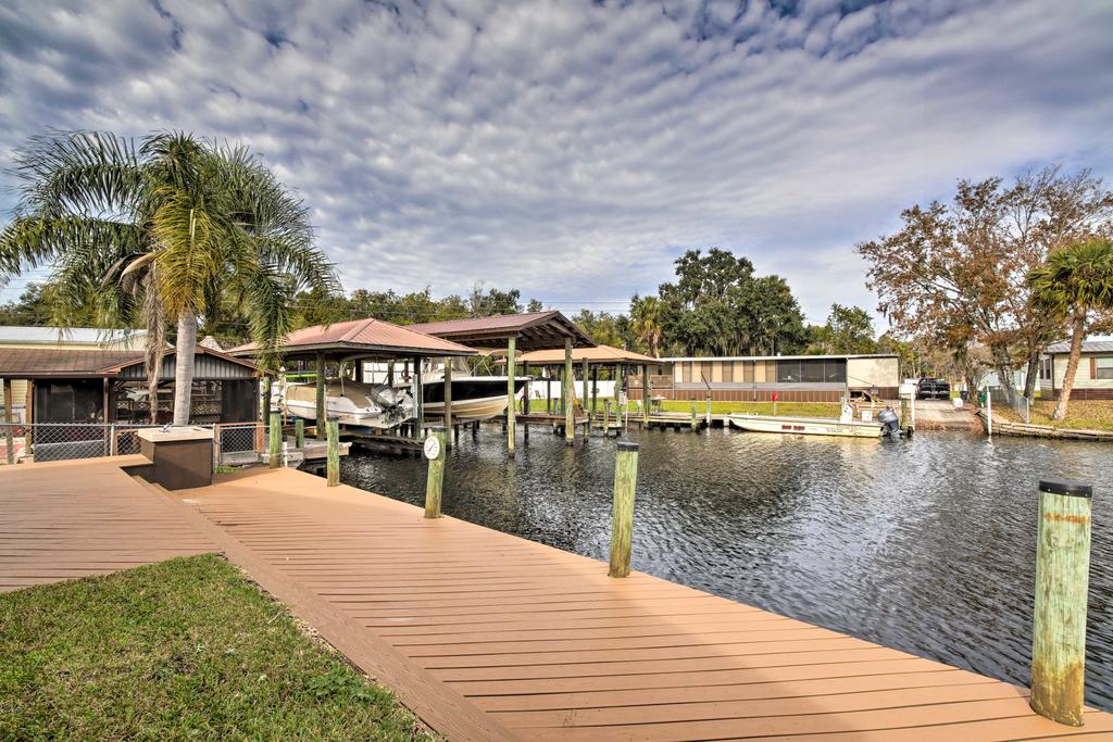 Waterfront Homosassa Home with Private Dock