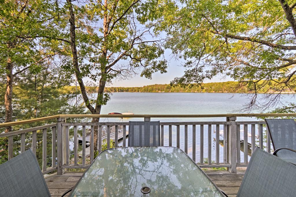 Waterfront House with Dock  Deck on Little Bear Lake